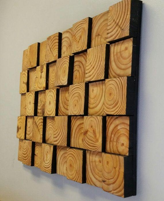 Best 25+ Wood Wall Art Ideas On Pinterest | Wood Art, Wood Throughout Wood Wall Art Panels (Image 3 of 20)