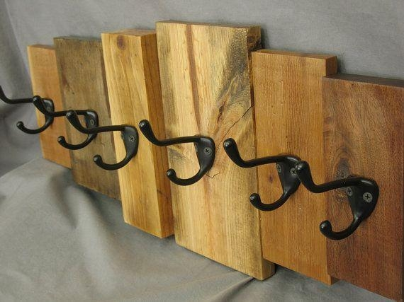 Best 25+ Wooden Coat Hooks Ideas On Pinterest | Rustic Coat Hooks Regarding Wall Art Coat Hooks (Image 9 of 20)