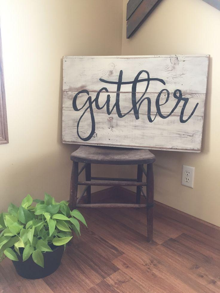 Best 25+ Words On Wood Ideas On Pinterest | Printing On Wood For Wooden Words Wall Art (View 8 of 20)