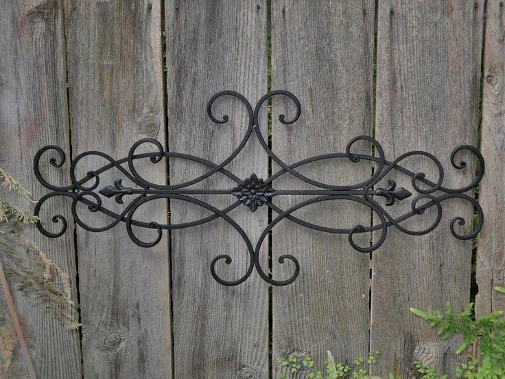 Best 25+ Wrought Iron Wall Art Ideas On Pinterest | Iron Wall Art For Wrought Iron Garden Wall Art (View 2 of 20)