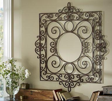 Best 25+ Wrought Iron Wall Art Ideas On Pinterest | Iron Wall Art Within Metal Gate Wall Art (Image 13 of 20)