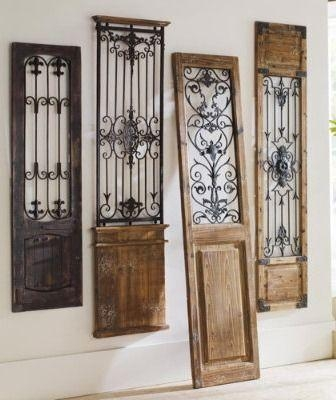 Best 25+ Wrought Iron Wall Decor Ideas On Pinterest | Iron Wall With Iron Gate Wall Art (Image 14 of 20)