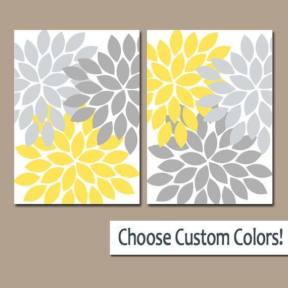Best 25+ Yellow Wall Art Ideas On Pinterest | Yellow Room Decor With Gray And Yellow Wall Art (Image 6 of 20)