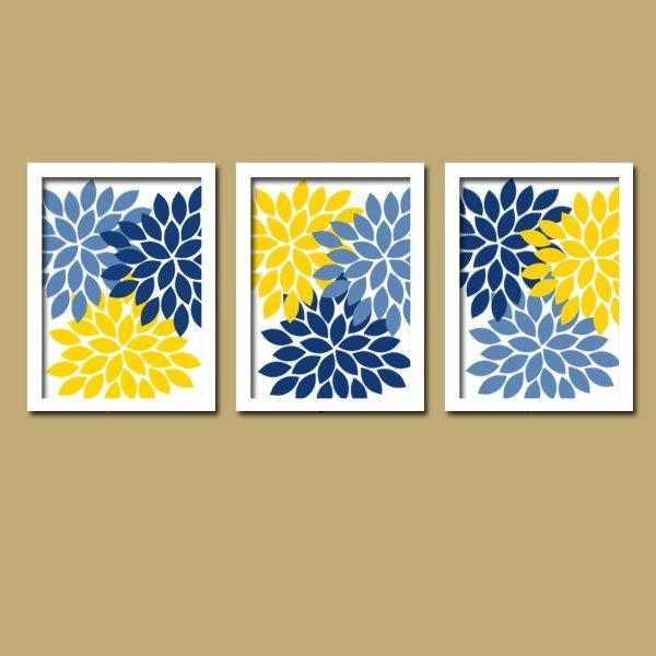 Best 25+ Yellow Wall Art Ideas Only On Pinterest | Yellow Room Within Yellow And Blue Wall Art (Image 9 of 20)