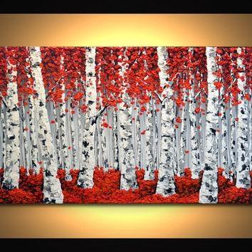 Best Aspen Tree Art Products On Wanelo Within Aspen Tree Wall Art (View 15 of 20)