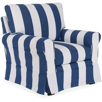 Best Blue Chair Slipcovers Products On Wanelo With Regard To Blue Slipcovers (View 17 of 20)