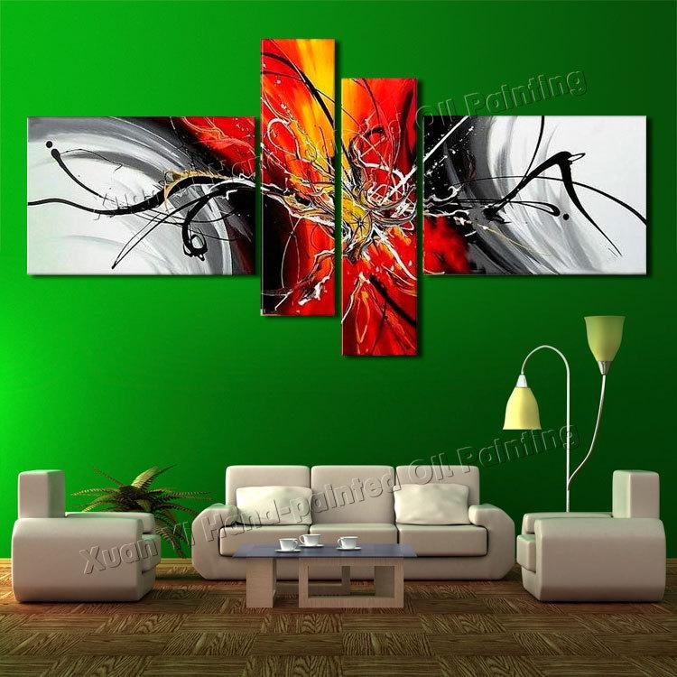 Best Canvas Art Promotion Shop For Promotional Best Canvas Art On With Regard To 4 Piece Canvas Art Sets (Image 7 of 20)