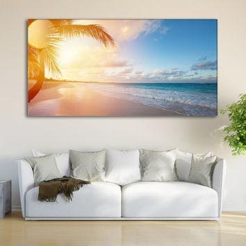 Best Coastal Canvas Wall Art Products On Wanelo Regarding Coastal Wall Art (Image 11 of 20)