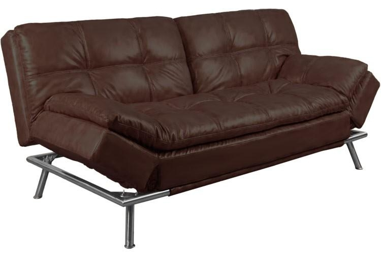Best Convertible Futon Sofabed Sleeper |Matrix Brown | The Futon Shop Intended For Convertible Futon Sofa Beds (Image 3 of 20)