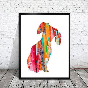 Featured Image of Dachshund Wall Art