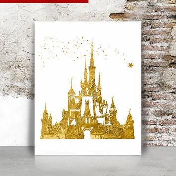Best Disney Princess Wall Art Products On Wanelo Intended For Disney Princess Wall Art (Image 7 of 20)