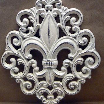Best Fleur De Lis Painting Products On Wanelo For Fleur De Lis Metal Wall Art (Image 7 of 20)
