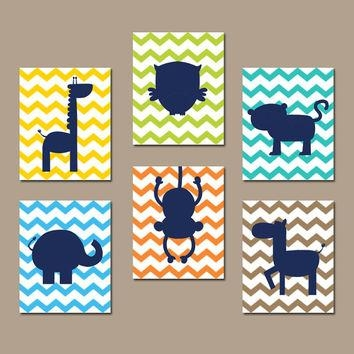 Best Jungle Animal Wall Art Products On Wanelo With Regard To Jungle Canvas Wall Art (Image 4 of 20)