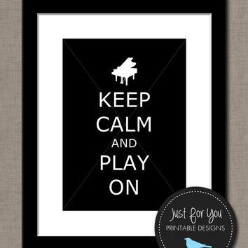 Best Keep Calm And Carry On Poster Products On Wanelo Inside Keep Calm And Carry On Wall Art (Image 5 of 20)