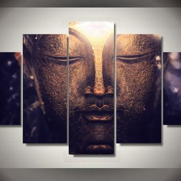 Best Large Buddha Wall Art Products On Wanelo In Large Buddha Wall Art (View 2 of 20)