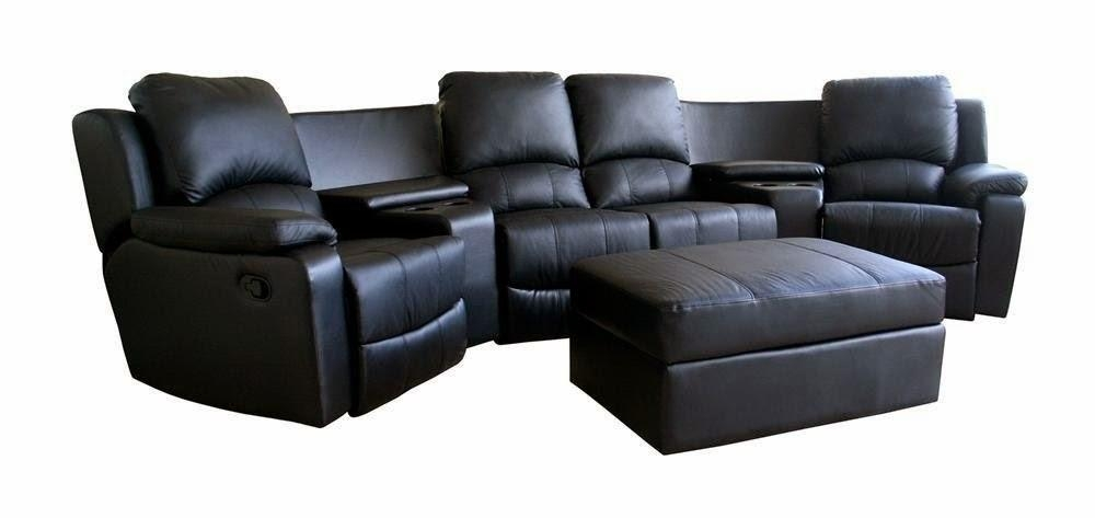 Best Leather Reclining Sofa Brands Reviews: Curved Leather Intended For Curved Sectional Sofas With Recliner (Image 4 of 20)