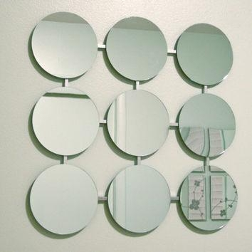 Best Mid Century Modern Mirror Products On Wanelo With Regard To Mirror Circles Wall Art (Image 6 of 20)