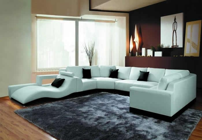Best Modern Sectional Sofa With Black Modern Sectional Sofas (Image 4 of 20)