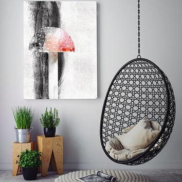 Best Mushroom Wall Decor Products On Wanelo With Regard To Mushroom Wall Art (Image 9 of 20)