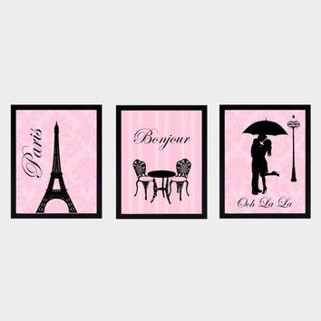 Best Paris Theme Products On Wanelo Inside Paris Theme Wall Art (Image 14 of 20)