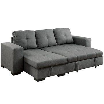 Best Sectional Sofas For Small Spaces – Overstock For Short Sectional Sofas (Image 1 of 20)