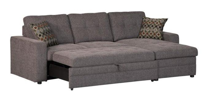 Best Sleeper Sofa And Sofa Bed 2017 Reviews | Reviewalley Inside Chenille Sleeper Sofas (Image 5 of 20)