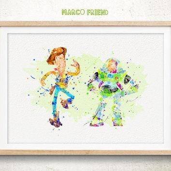 Best Toy Story Decorations Products On Wanelo Inside Toy Story Wall Art (View 10 of 20)