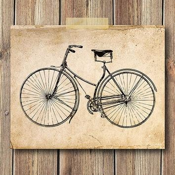 Best Vintage Bicycle Wall Decor Products On Wanelo With Bicycle Wall Art Decor (Image 7 of 20)