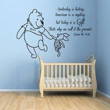 Best Winnie The Pooh Decorations For Baby Room Products On Wanelo Inside Winnie The Pooh Wall Art For Nursery (Image 9 of 20)