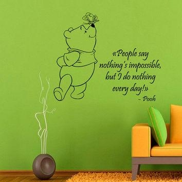 Best Winnie The Pooh Decorations For Baby Room Products On Wanelo Intended For Winnie The Pooh Vinyl Wall Art (Image 8 of 20)
