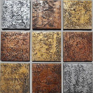 Best Wood Block Wall Art Products On Wanelo Inside Wooden Wall Art Panels (Image 6 of 20)