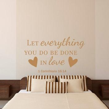 Bible Verse Quotes Wall Decal Let From Fabwalldecals On Etsy With Nursery Bible Verses Wall Decals (View 3 of 20)