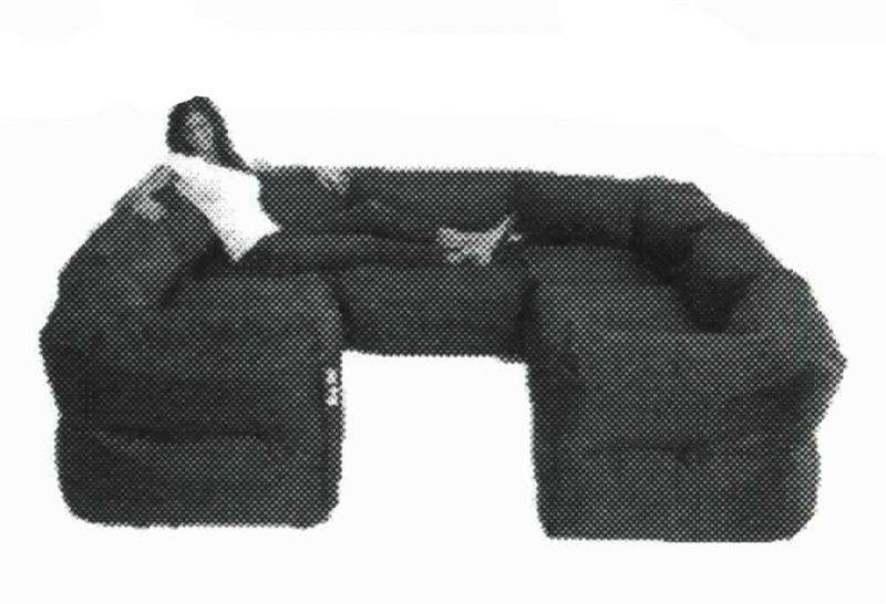 Big Joe 7 Piece Zip Modular Sectionalcomfort Research – 0649602 07 For Big Joe Modular Sofas (View 7 of 20)