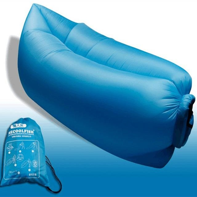 Big Size Beach Portable Outdoor Inflatable Bone Furniture Sofa In Camping Sofas (Image 9 of 20)