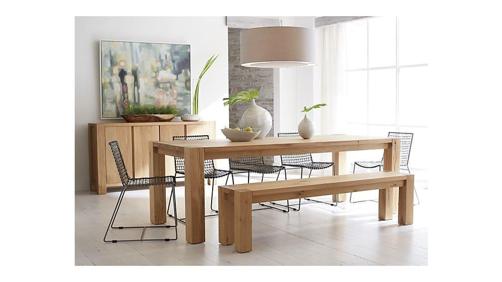 """Big Sur Natural 65"""" Dining Table 