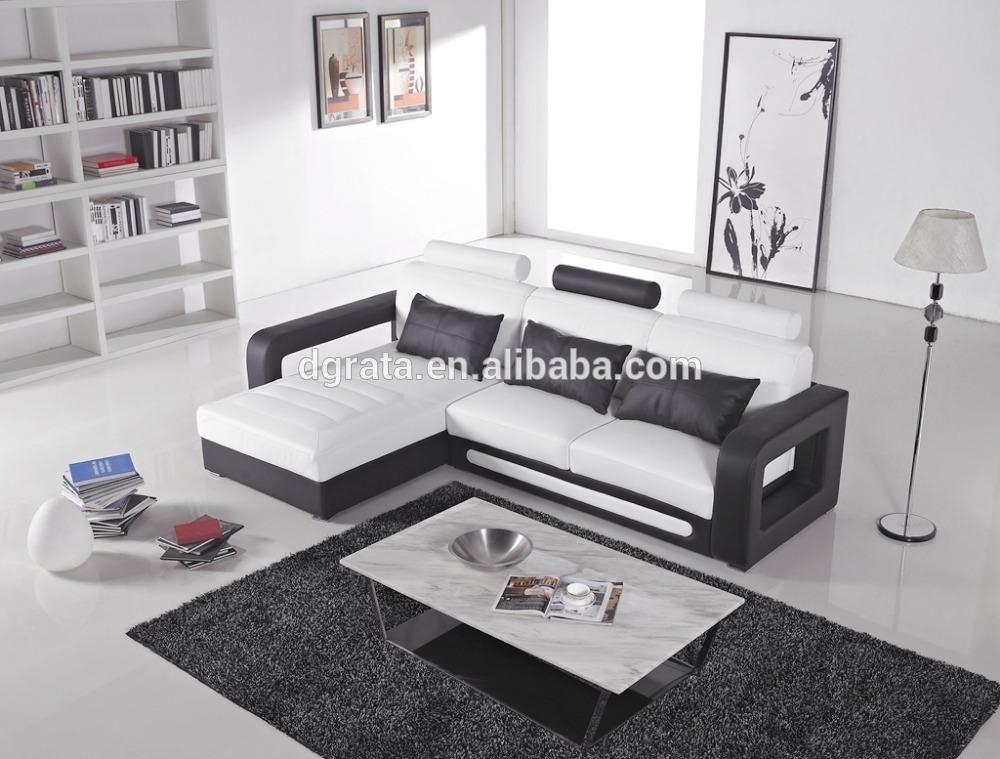 Black And White Leather Sofa, Black And White Leather Sofa With Regard To Black And White Leather Sofas (Image 8 of 20)