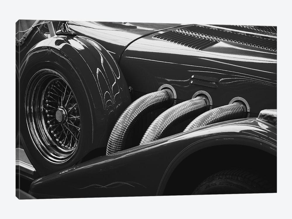 Black And White Vintage Car Canvas Wall Art | Icanvas Regarding Classic Car Wall Art (Image 5 of 20)