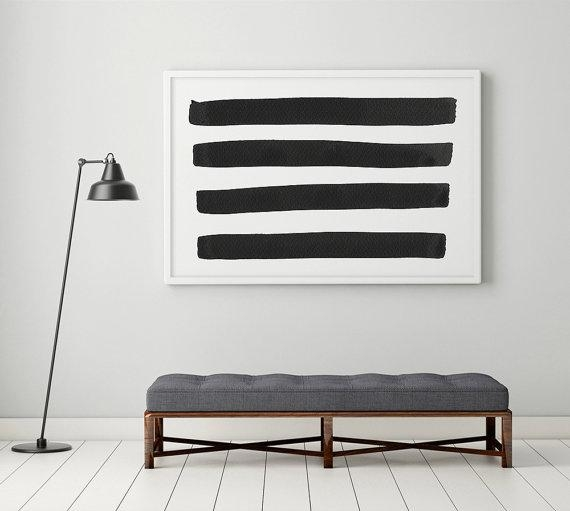 Black And White Wall Art Black And White Prints Large Wall Intended For Large Black And White Wall Art (Image 11 of 20)
