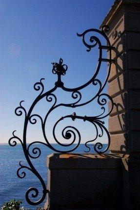 Black Iron Wall Art – Foter For Iron Gate Wall Art (Image 15 of 20)