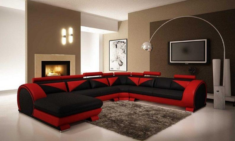 Black Red White Living Room Ideas Best 25+ Living Room Red Ideas Throughout Black And Red Sofas (Image 6 of 20)