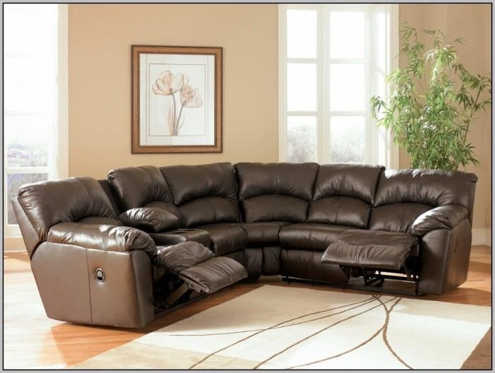 Black Sectional Sofa With Recliners – Sofa : Home Design Ideas Within Curved Sectional Sofas With Recliner (Image 5 of 20)
