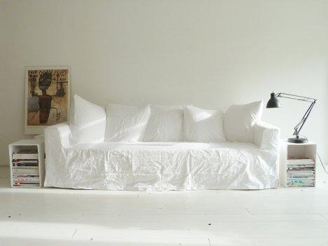 Blank Canvas Sofa Cover Invites Endless Personalization Regarding Canvas Sofa Slipcovers (View 5 of 13)