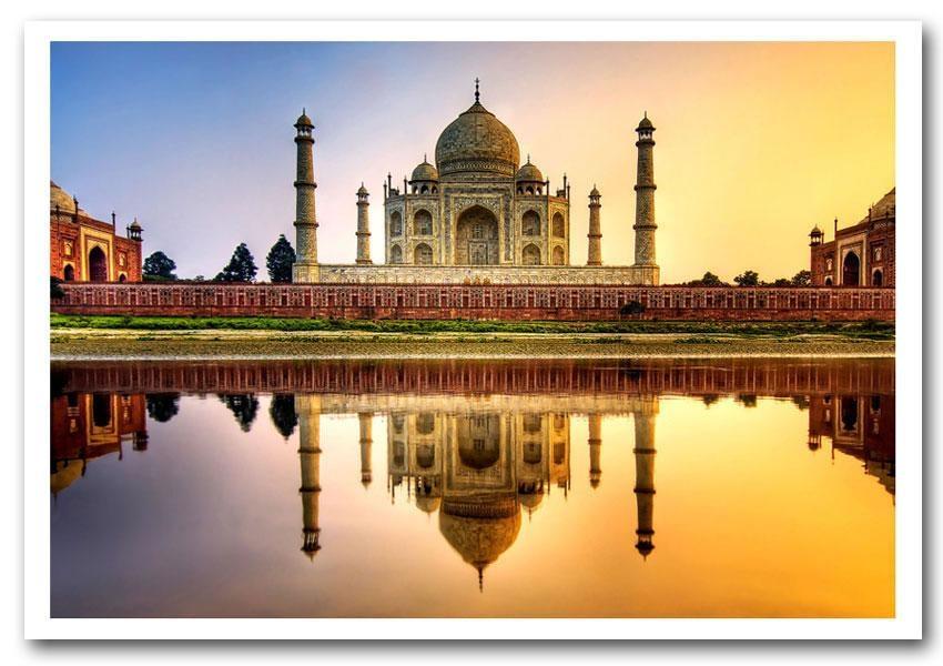 Blog Landmarks Taj Mahal Prints Posters Inside Taj Mahal Wall Art (Image 7 of 20)