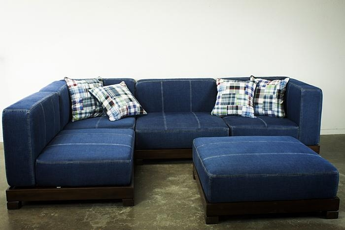 Blue Denim Sectional Sofa Archives – Coredesign Interiors Inside Blue Jean Sofas (Image 16 of 20)