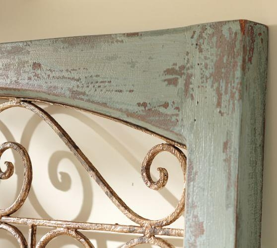 Blue Gate Wall Art | Pottery Barn Intended For Iron Gate Wall Art (Image 16 of 20)