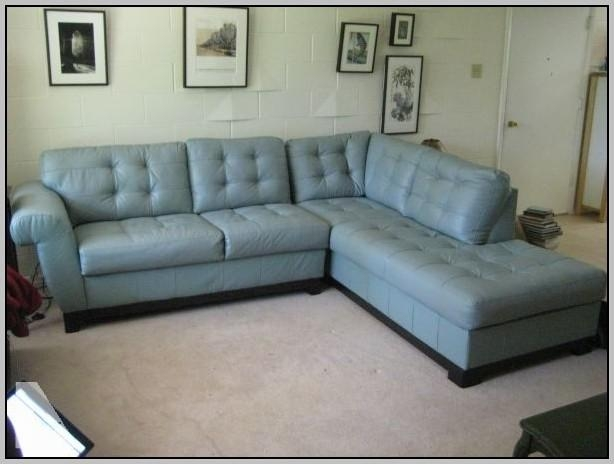Blue Leather Sectional Sofa – Navy Blue Leather Sectional Sofa Throughout Blue Leather Sectional Sofas (Image 3 of 20)