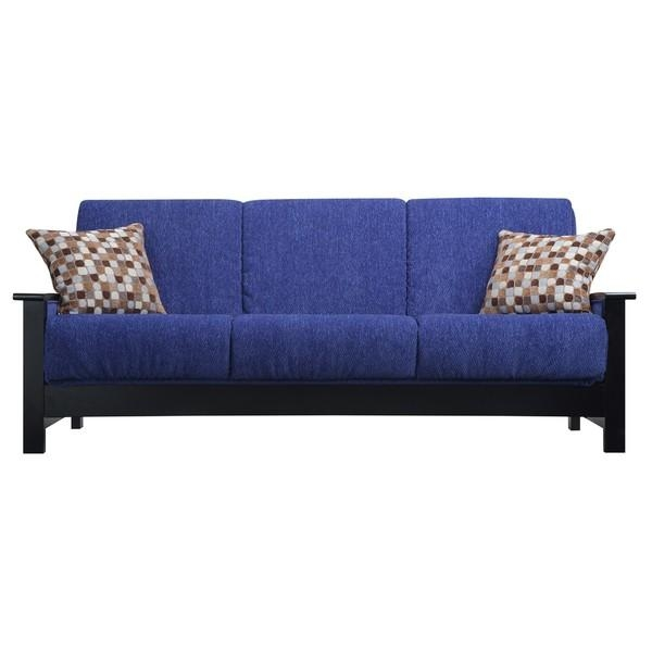 Blue Sleeper Sofa – Blue Denim Sleeper Sofa, Blue Queen Sleeper Pertaining To Chenille Sleeper Sofas (Image 6 of 20)