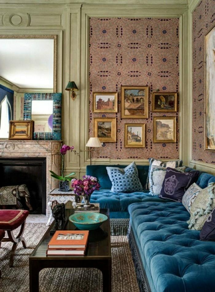 Blue Sofa In Living Room – Home Design Interior And Exterior Spirit For Living Room With Blue Sofas (View 19 of 20)