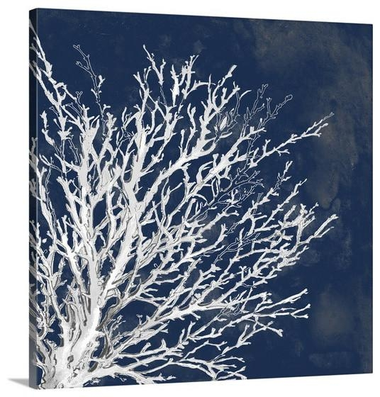 Blue Wall Art On Wallpaperget Inside Coastal Wall Art Canvas (Image 12 of 20)