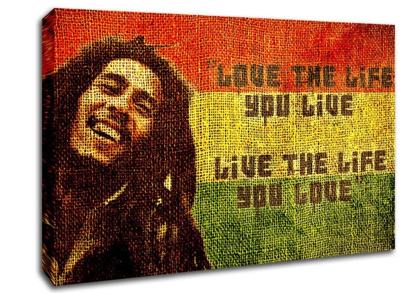 Bob Marley Canvas Art | Wallartdirect.co (Image 4 of 20)
